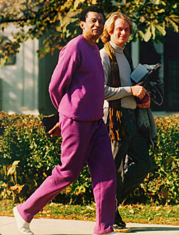 Dr. Ibrahim and me, 1989, Middlebury Vermont