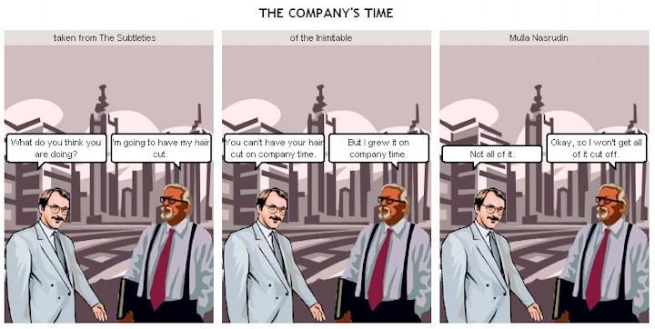 Nasruddin - Company Time
