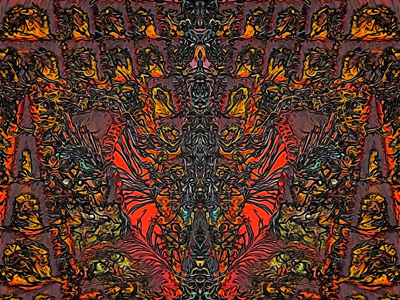 "heck 48x36"" (2016)"