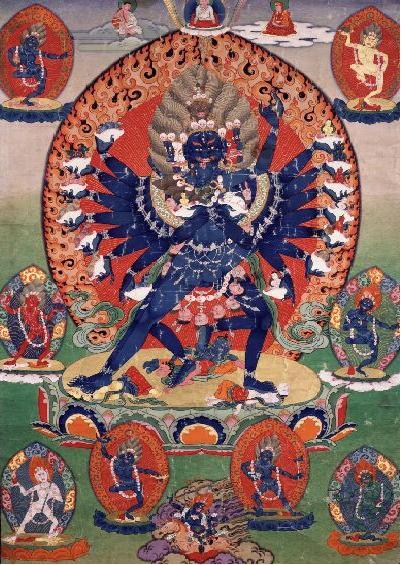 Hevajra deity