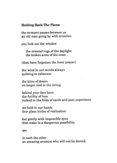 Timothy Calhoun, poet