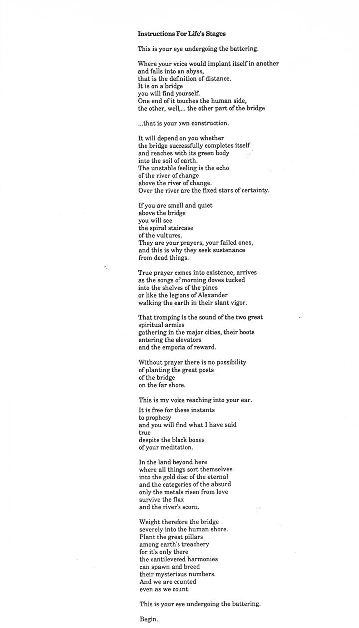 Tim Calhoun Cleveland poet