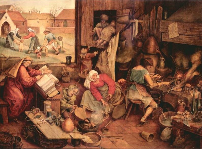 Brueghel - The Alchemist