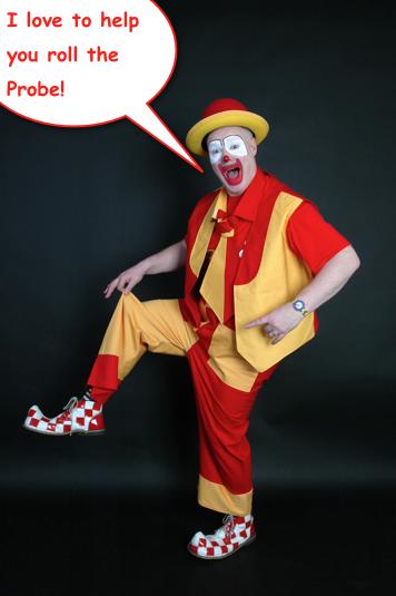 clown-probe