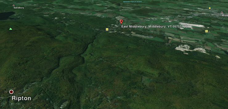 E Middlebury River