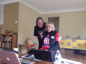 Vicki and Barb