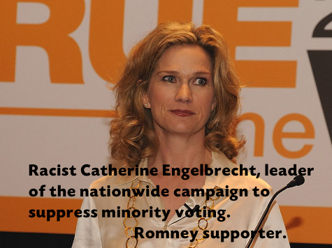 Racist catherine Engelbrecht