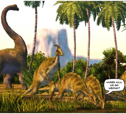 Dinosaur Musing