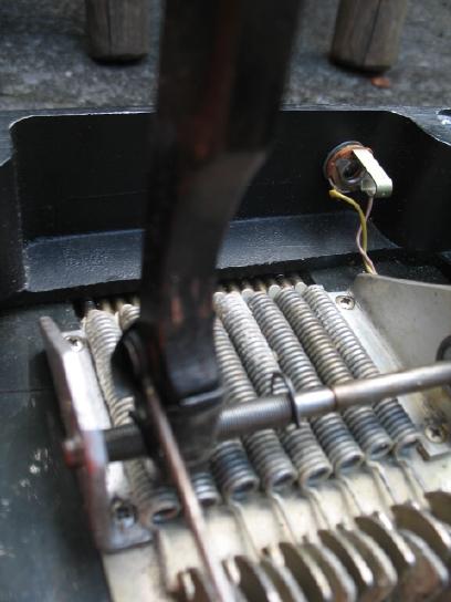 Fender 400 underside